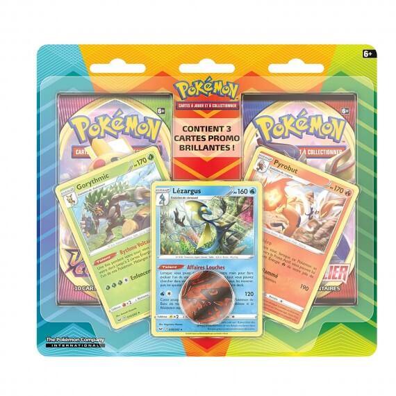 Pokemon - Pack 2 Boosters Janvier 2021