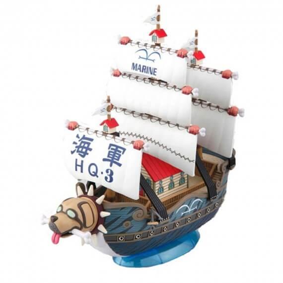 Maquette One Piece - 008 Garp's Ship Grand Ship Collection 15cm
