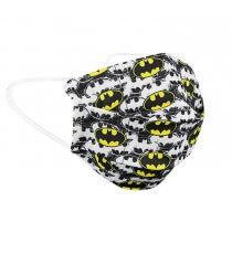 Masque DC Comics - Masque Batman barrière réutilisable blanc