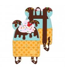 Mini Sac A Dos Disney - Mickey & Minnie Sweets Ice Cream