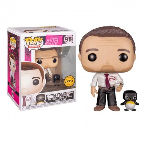 Figurine Fight Club - Narrator With Power Animal Chase Pop 10cm