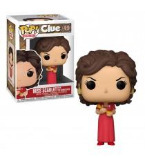 Figurine Cluedo - Miss Scarlet With Candlestick Pop 10cm