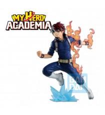 Figurine My Hero Academia - Shoto Todoroki Ichibansho Go And Go! 18cm