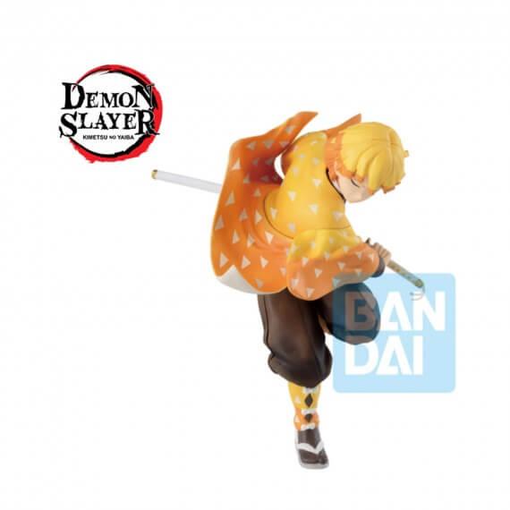 Figurine Demon Slayer Kimetsu No Yaiba - Zenitsu Agatsuma Ichibansho Mugen Train 16cm