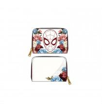 Portefeuille Marvel - Spiderman Floral