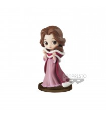 Boite Abimée - Figurine Disney - Belle Winter Costume Q Posket Characters Petit 7cm