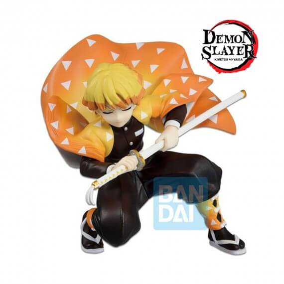 Figurine Demon Slayer Kimetsu No Yaiba - Zenitsu Agatsuma Ichibansho 11cm
