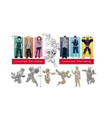 Figurine My Hero Academia - Pack 24 Gashapon Foil 8cm