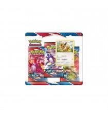 Pokemon - Pack 3 Booster Style De Combat + Carte Promo
