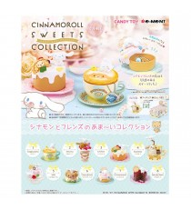 Set 6 Figurines Cinnamoroll Sweets Collection