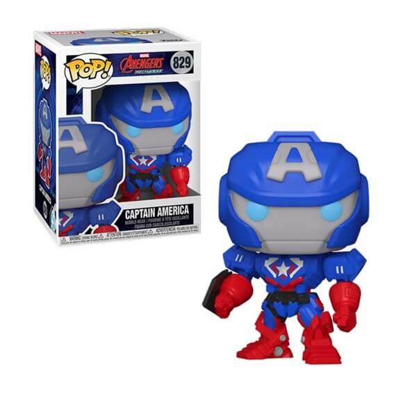 Figurine Marvel - Mech Captain America Pop 10cm