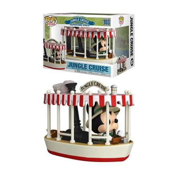Figurine Disney - Jungle Cruise Skipper Mickey Boat Pop Rides 10cm