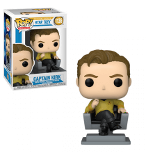 Figurine Star Trek - Cap Kirk In Chair Pop 10cm