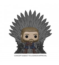 Figurine Game Of Thrones - Ned Stark On Throne Pop 10cm