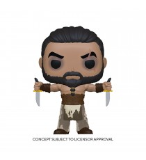 Figurine Game Of Thrones - Khal Drogo With Daggers Pop 10cm