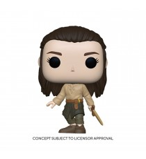 Figurine Game Of Thrones - Arya Training Pop 10cm