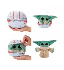 Peluche Star Wars Mandalorian - The Child Grogu Transformable