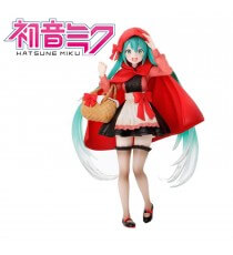Figurine Vocaloid - Hatsune Miku Little Red Riding Hood 18cm