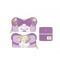 Portefeuille Disney - Minnie Holding Flowers