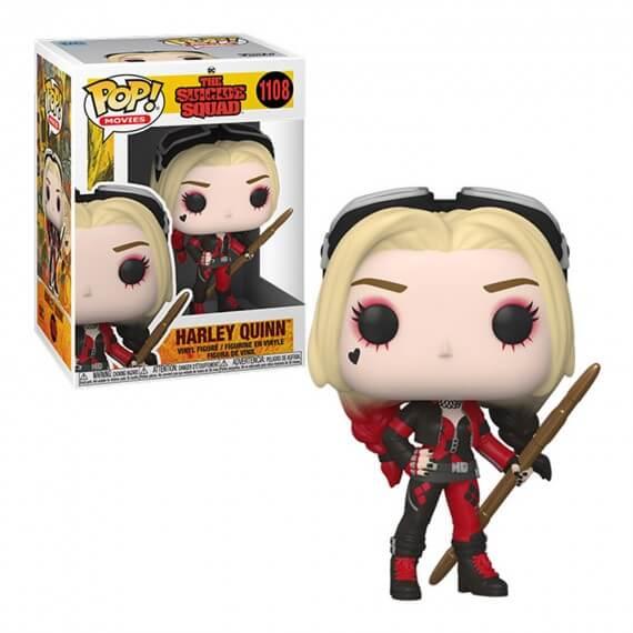 Figurine DC The Suicide Squad - Harley Quinn Bodysuit Pop 10cm