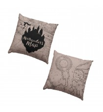 Coussin Harry Potter - Carte Du Marauder 45cm