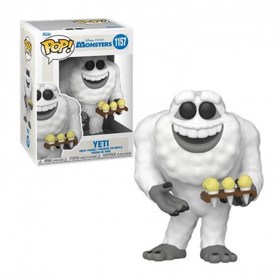 Figurine Disney Monsters Inc 20Th - Yeti Pop 10cm