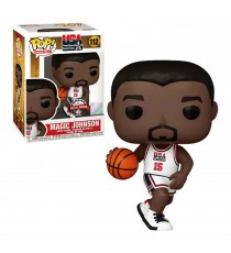 Figurine NBA - Magic Johnson 1992 USA Pop 10cm