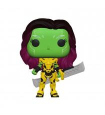Figurine Marvel What If - Gamora W/Blade Of Thanos Pop 10cm