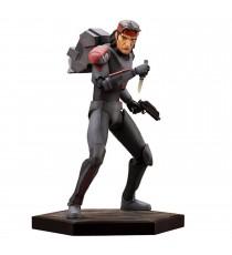 Figurine Star Wars Bad Batch - Hunter ARTFX 25cm