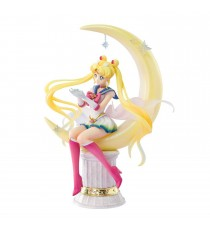Figurine Sailor Moon - Super Sailor Moon Bright Moon Figuarts Zero 19cm