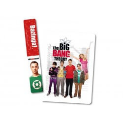 NoteBook + Marque-Page Big Bang Theory