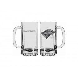 Chope Verre Game Of Thrones - Stark Winter is Coming