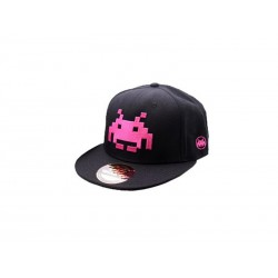 Casquette - Space Invaders Rose Logo