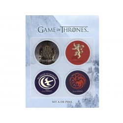 Pack 4 Badges Game of Thrones Set A