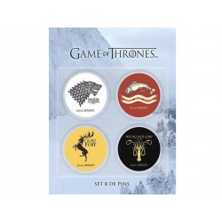 Pack 4 Badges Game of Thrones Set B