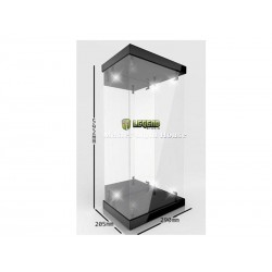 Vitrine Master Light House 1/4 Noire