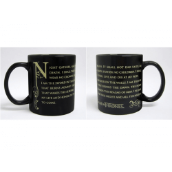 Mug - Game of Thrones - Night's Watch Serment