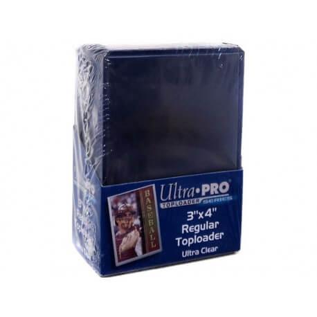 "Ultra Pro - Toploader 3""x 4"" Ultra Clear 25s 074427812225"
